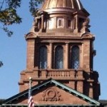 Photo of cropped courthouse dome