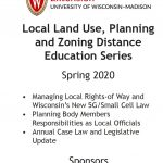 Photo of Local Land Use & Zoning Brochure Cover