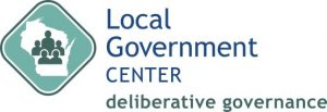 image for Local Government Center Deliberative Governance icon with text